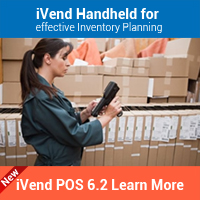 iVend Handheld for effective Inventory Planning for ivend