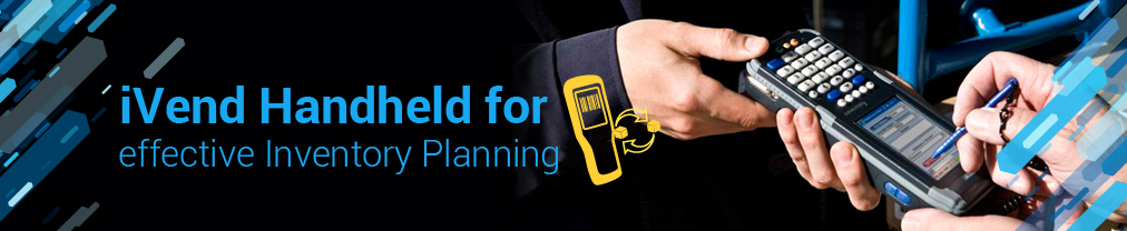 iVend Handheld for effective Inventory Planning